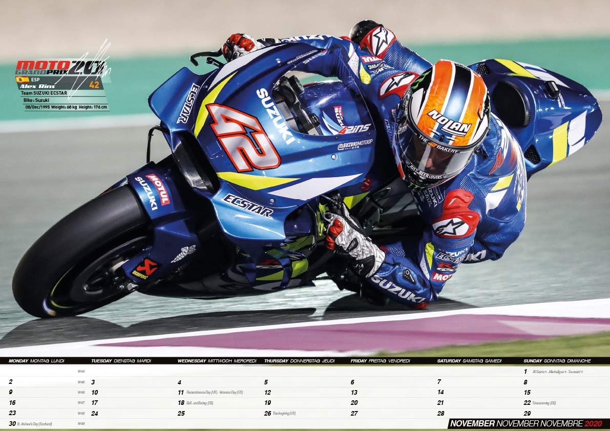 Moto GP 2020 - MotoGP: Amazon.es: Rossi, Valentino, Marquez, Marc, Dovizioso, Andrea: Libros en idiomas extranjeros