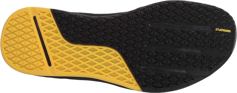 Reebok Men's Nano 9 Cross Trainer Black/True Grey/Toxic Yellow