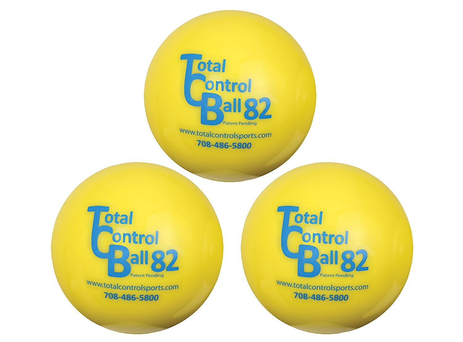 Total Control 3.2'' Training Ball 82 (3 Pack) by Total Control Sports