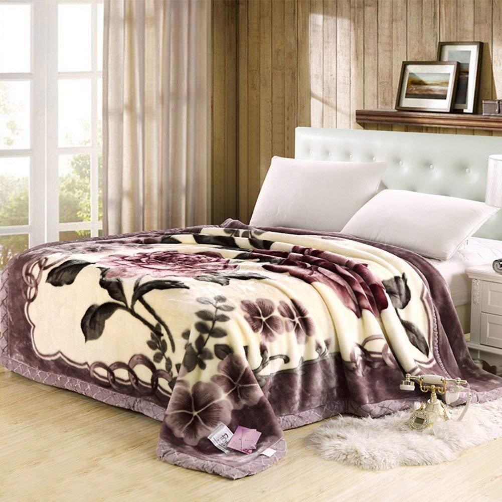 Mabmeiyang シーツの冬のフランネルの綿毛布、暖かい単一の二重タオルのキルト毛布 (Color : 180x200cm(71x79inch), サイズ : I) B07SMTYZGW 180x200cm(71x79inch) I