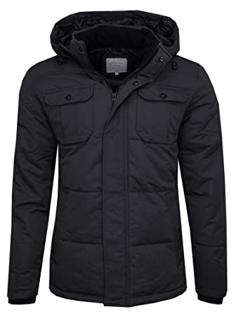 JACK & JONES Flicker Jacket-Chaqueta Hombre Schwarz (Black/Regular Fit) Small