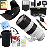 Sony (SEL70200GM) FE 70-200mm F2.8GM OSS E-Mount Lens + 64GB Ultimate Filter & Flash Photography Bundle