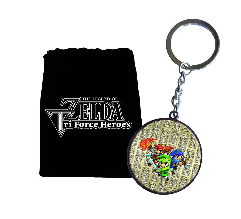 Llavero Zelda Tri Force Heroes: Amazon.es: Videojuegos
