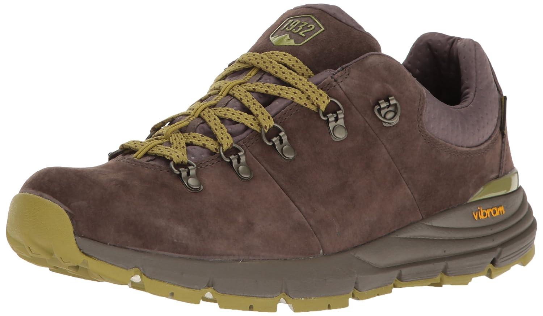 Dark Brown Lichen Danner Mens Mountain 600 Low 3  Dark Brown Lichen Hiking shoes