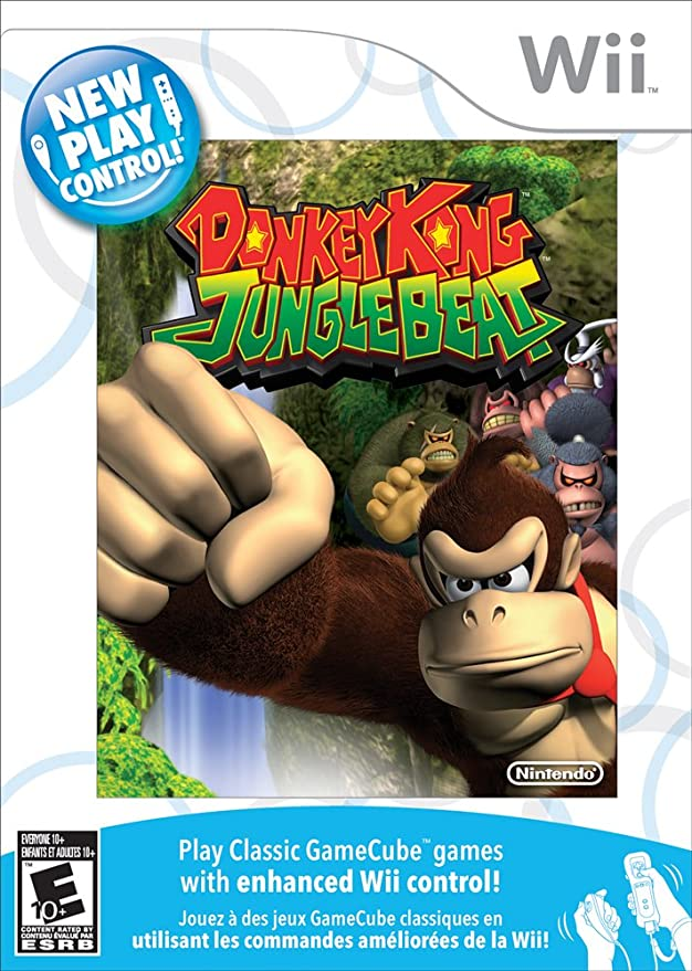 Donkey Kong Jungle Beat - PEGI [Importación inglesa]: Amazon.es ...