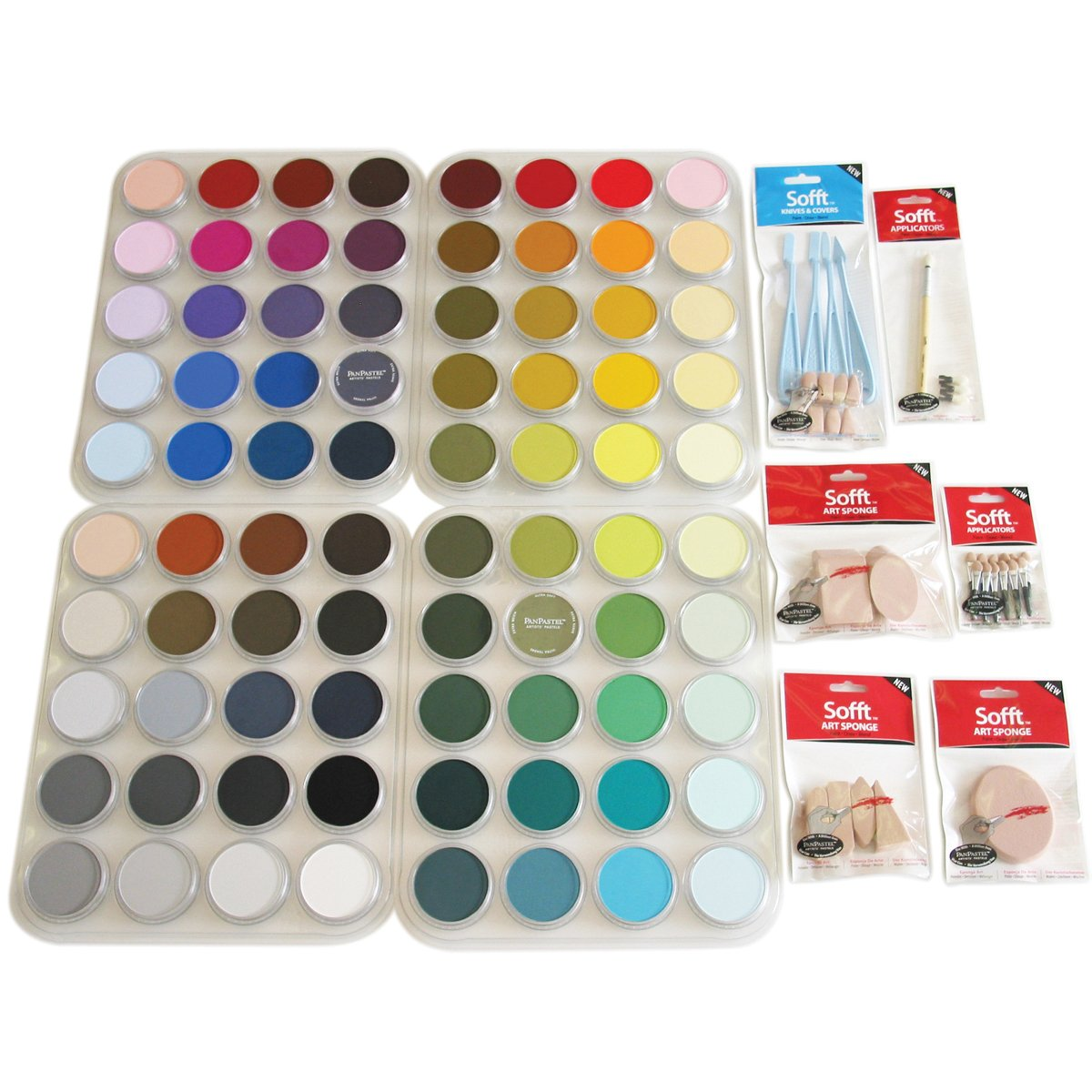 Colorfin Ppstl80 Panpastel Ultra Soft Artist Pastel Set 80-Pack 2