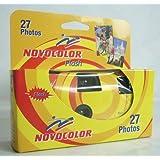 Macchina Fotografica Novocolor Flash 400 Iso - Fotocamera Usa e Getta 27 Foto con Flash