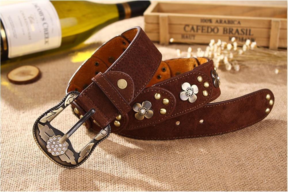 SZH/&BELT Retro Diamond Rivets Belts Women s Jeans Accessories Belt
