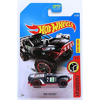 2016 Hot Wheels Regular Treasure Hunt Hw Daredevils 6/10 - Dune Crusher: Toys & Games