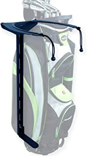 product image for Koova Golf Bag Storage Rack- Wall Mount Garage Organizer for Golf Clubs - Fits Any Size Cart or Stand Bag - Easy to Install and Use - Gets Your Clubs Off The Floor - Made in USA