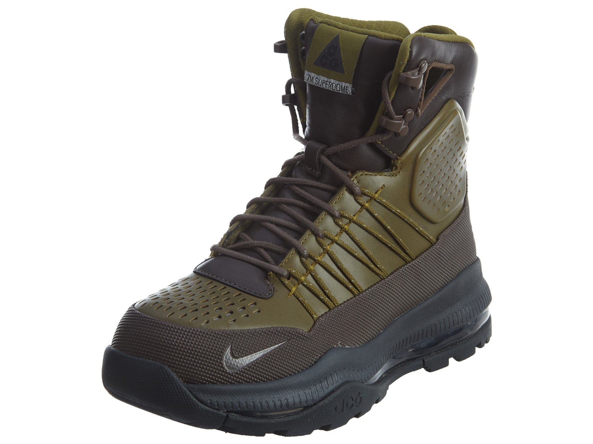 Nike Zoom Superdome Men's Boots (8.5, SPORT RED/TEAM RED/COOL GREY/METALLIC SILVER)