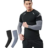 UV Sun Protection Arm Sleeves for Women Men Youth, Cooling, Compression, Arm Warmer, Tattoo Cover Up, UPF 50 - 2 & 4…