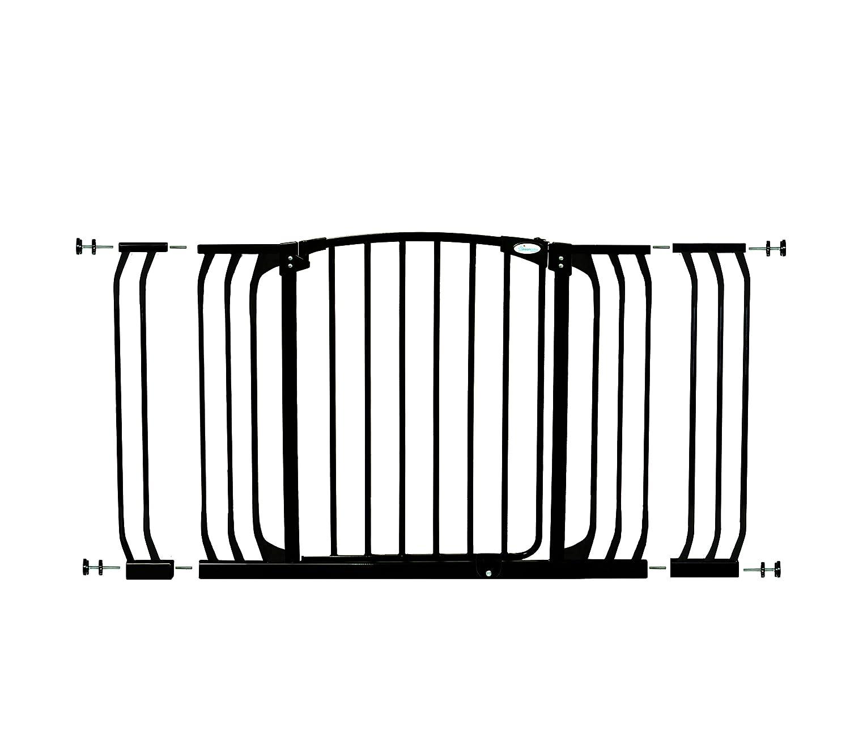 Dreambaby Barrera de seguridad + 2 extensiones Chelsea (97cm - 133cm) Blanca Tee Zed F790W