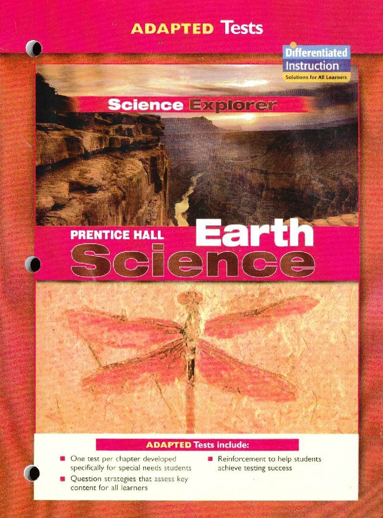 Adapted Tests Science Explorer (Prentice Hall Earth Science): Prentice Hall:  9780131665934: Amazon.com: Books