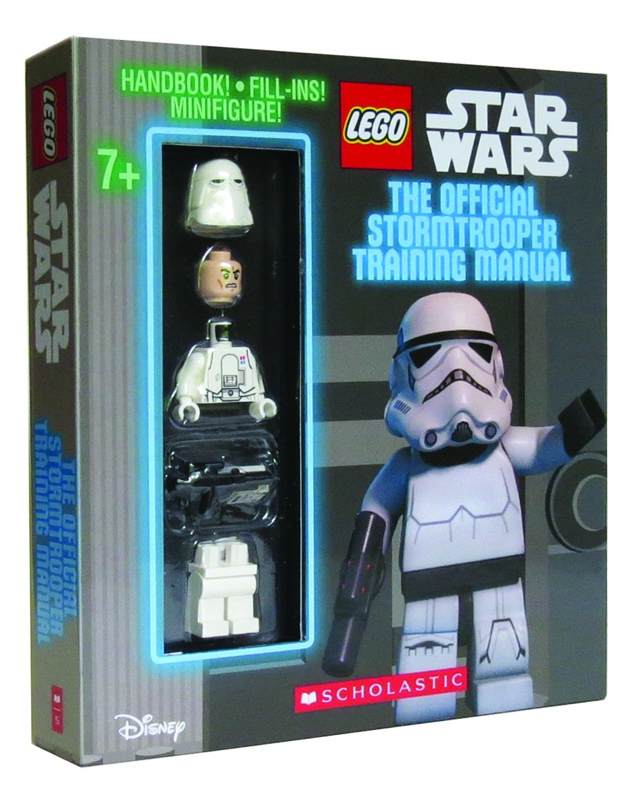 The Official Stormtrooper Training Manual. Book + Snowtrooper Minifigure (Lego Star Wars)