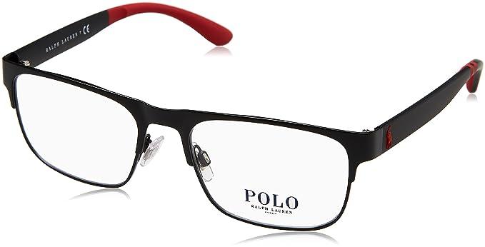Ralph Lauren Polo 0PH1178, Monturas de Gafas para Hombre, Matte Black, 54
