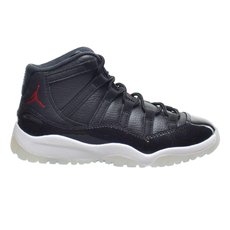 fda441da322e45 Jordan 11 Retro BP Little Kids Shoes Black Gym Red-White-Anthracite 378039