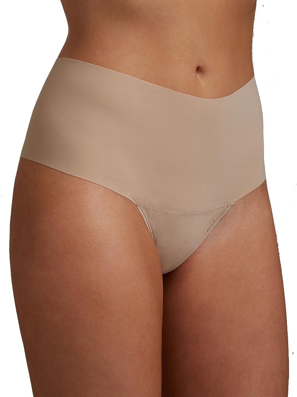 73f40296c22e Hanky Panky Bare Godiva Hi-Rise Thong at Amazon Women's Clothing store: