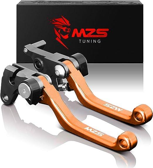 SIX DAYS Pivot Dirtbike Off Road Orange Brake Clutch Levers for KTM 125 SX//150 SX 2016-2020,250 XC-W//XCF-W//300 EXC//350 EXC-F//450//EXC-R//500XC-W//EXC//EXC-F 2014-2020 Orange