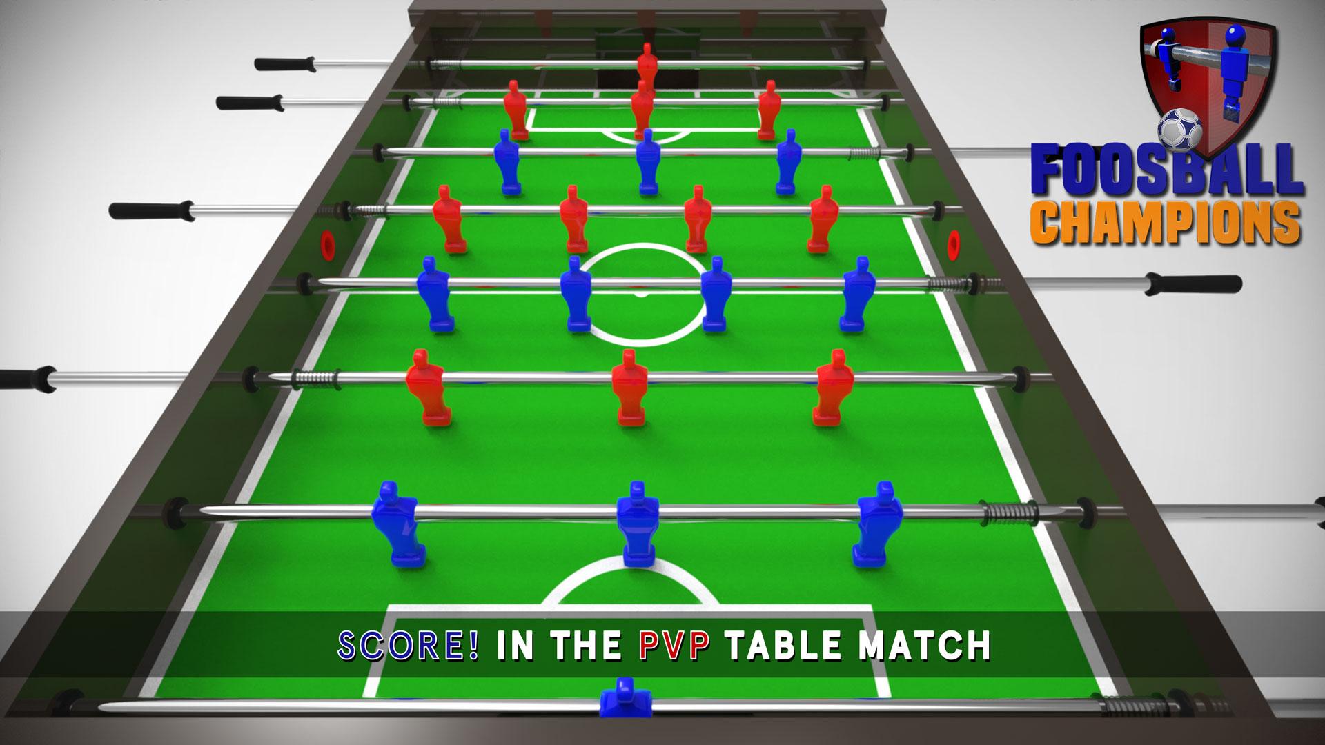 Campeones de la Liga de Foosball - Juego de mesa multijugador ...