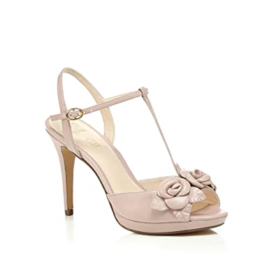 Leather 'pippin' High Stiletto No1 T Packham Bar Heel Jenny Pink nNOvw80m