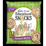 Dick and Jane Farmers Market Vanilla Educational Snacks, 1 Ounce -- 120 per case.