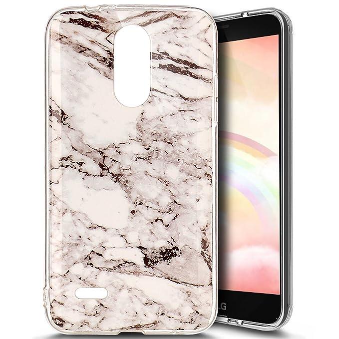 10 opinioni per Ukayfe Custodia Cover LG K4 2017 Silicone Morbido, Ultra Slim Case Caso