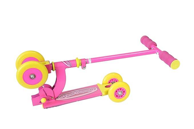Amazon.com: Ozbozz Mi primer patinete, color rosa: Toys & Games