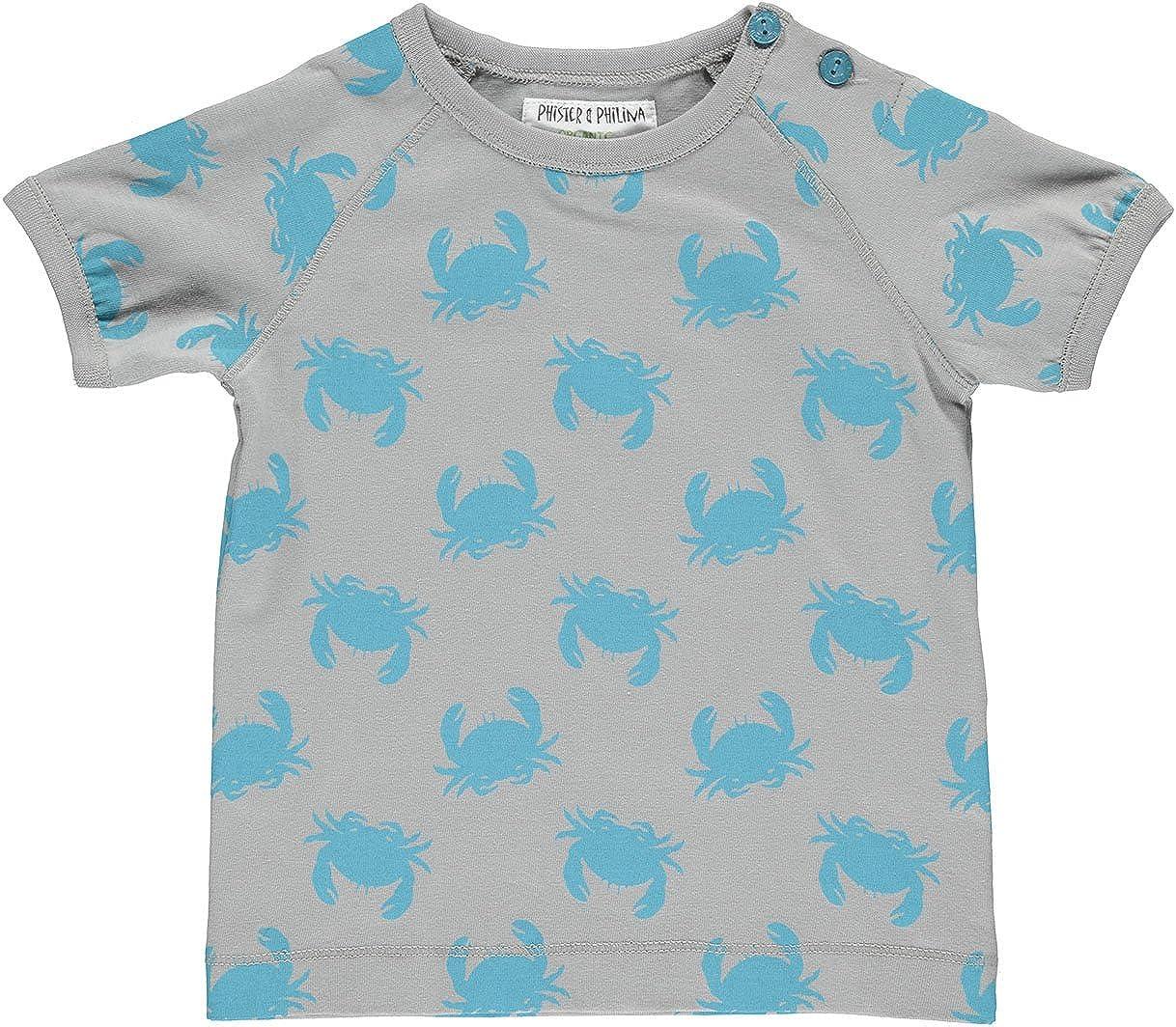 T-Shirt B/éb/é Gar/çon Phister /& Philina Elijah Beach Organic