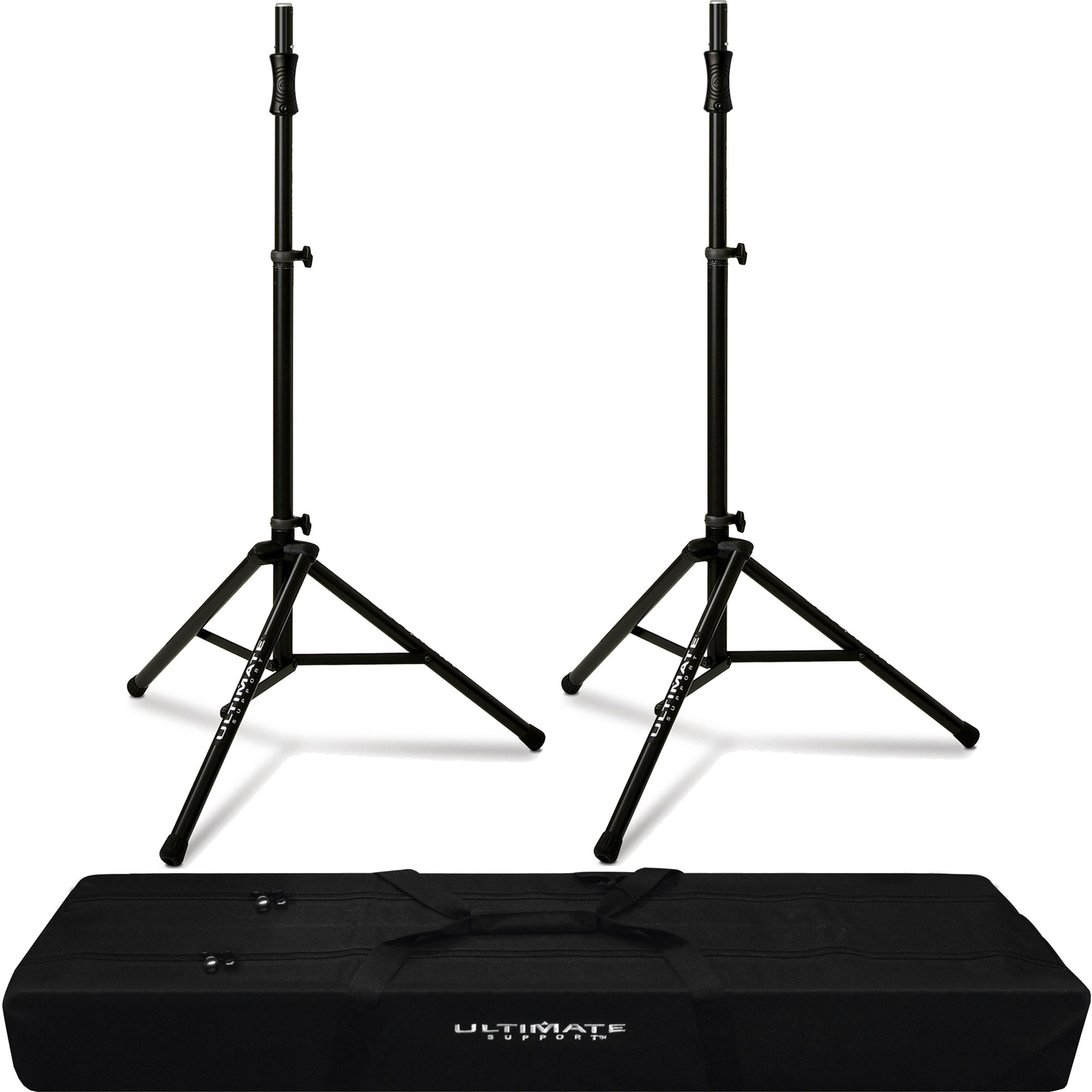 2x TS-100B Air Powered Speaker Stand & BAG-90D Padded Dual Tripod Tote Bag
