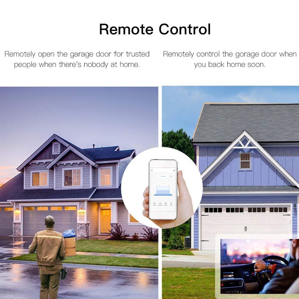 OWSOO WiFi Intelligente Garagentor/öffner Controller Aufzug Schalter Handy APP Fernbedienung Zeitschaltuhr Funktioniert
