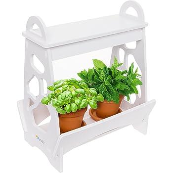 indoor hydroponic herb garden kit lamp desk lamp for reading smart fresh herb. Black Bedroom Furniture Sets. Home Design Ideas