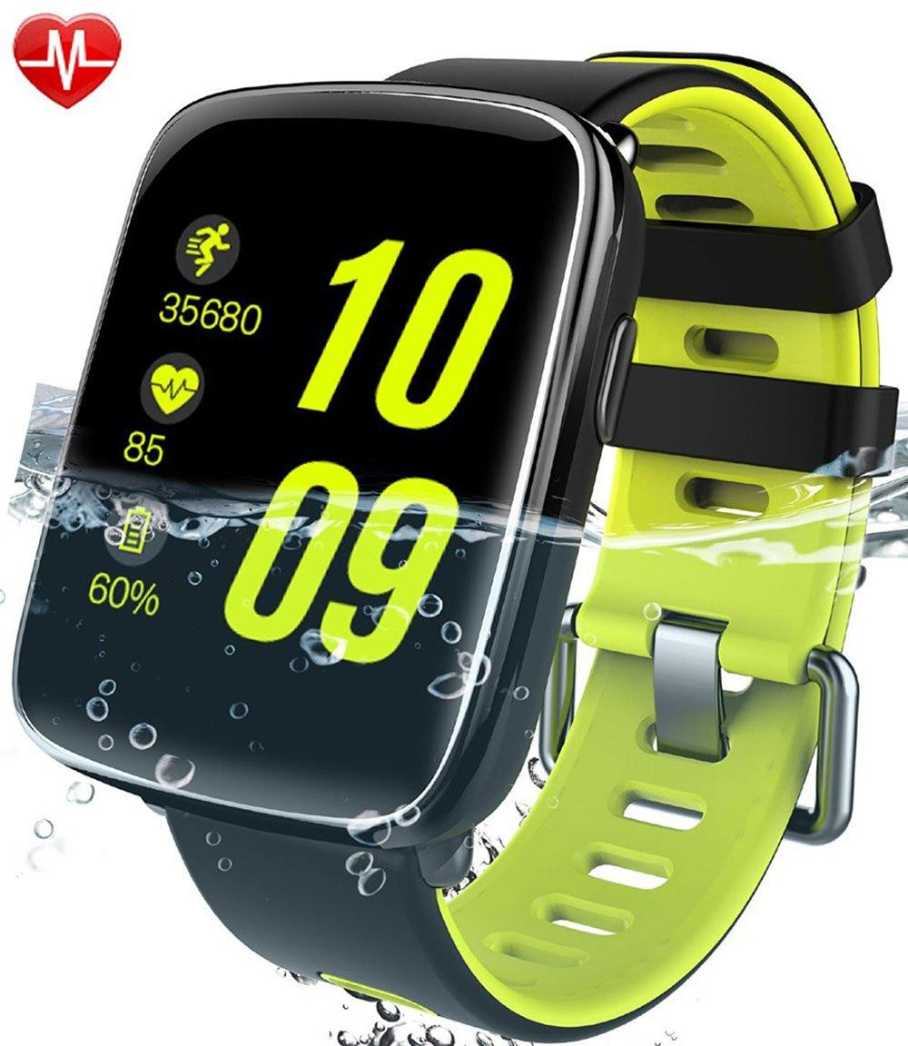 Willful Reloj inteligente con Pulsómetro Impermeable IP reloj deportiva Inteligente Fitness Tracker