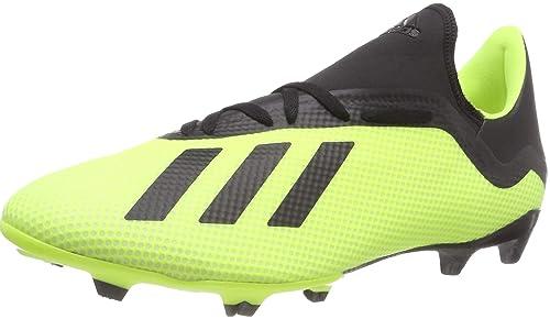 Adidas X 18.3 Fg, Scarpe da Calcio Uomo, Giallo (Amasol/Negbás/