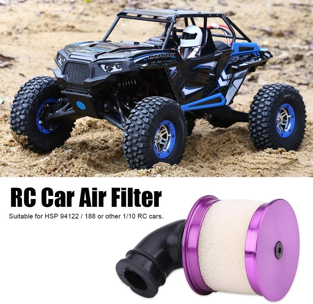 Purple RC Air Filter Remote Control Car Air Filters for HSP 94122//188 1//10 RC Model Vehicle Accessory