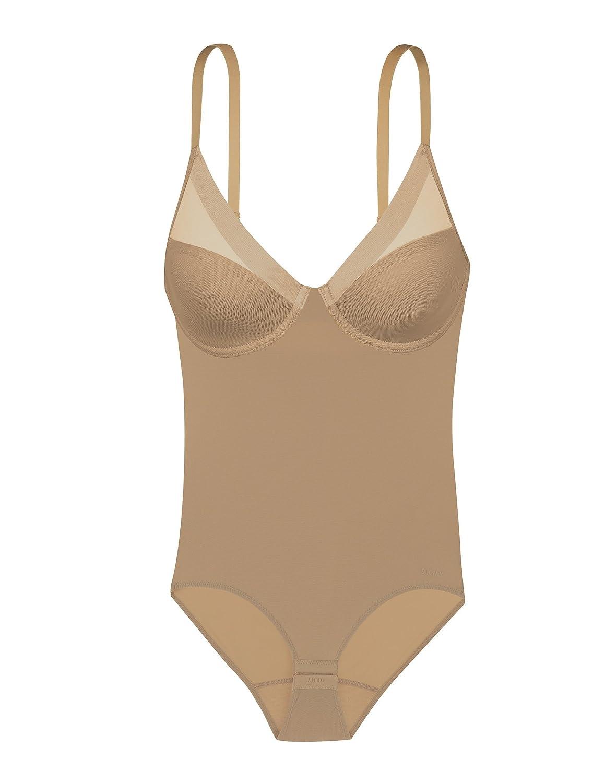 f5220dbec26b DKNY Women's Mesh Litewear Shapewear Body Suit at Amazon Women's Clothing  store: