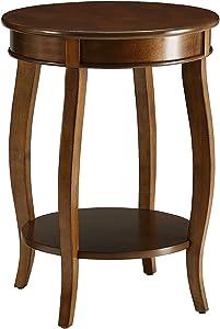 ACME Aberta Side Table - - Walnut