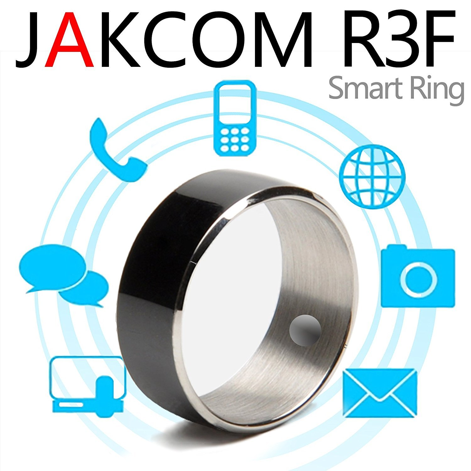 Jakcom R3F Smart Ring NFC Ring Wearable Technology Smart Tags Size #9 by Jakcom
