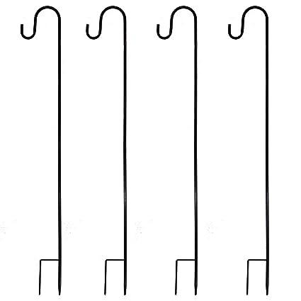 Great Joiedomi 39 Inches Shepherd Hook Garden Hook Hanger Premium Metal Rust  Resistant For Hanging Plants,