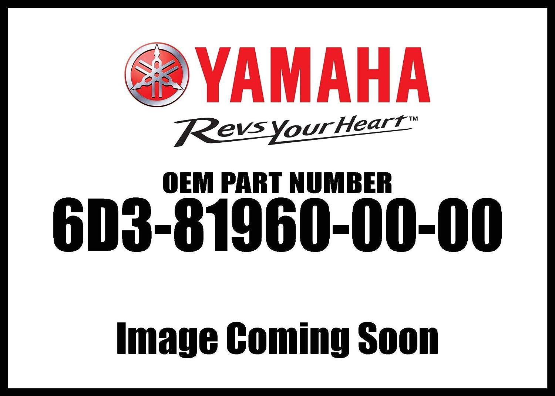 Yamaha 6D3-81960-00-00 RECTIFIER /& REGULATO; 6D3819600000