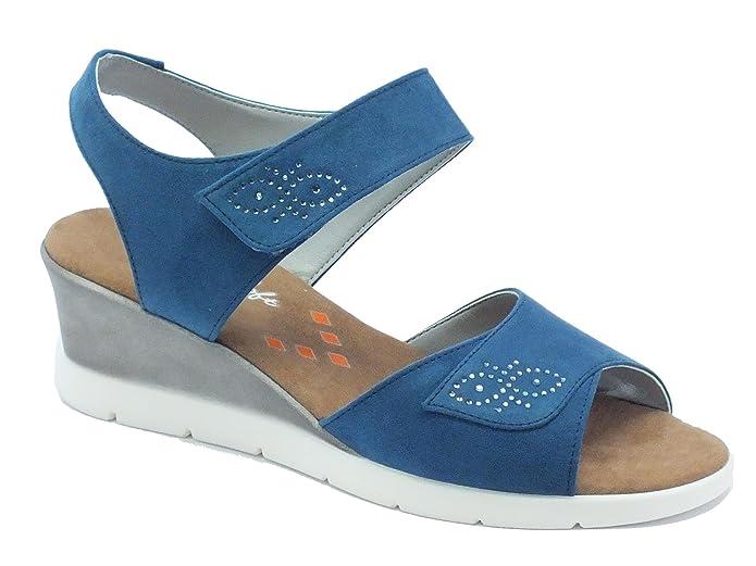 Cinzia Soft 781042 Camoscio Jeans, Damen Sandalen: Amazon.de: Schuhe &  Handtaschen