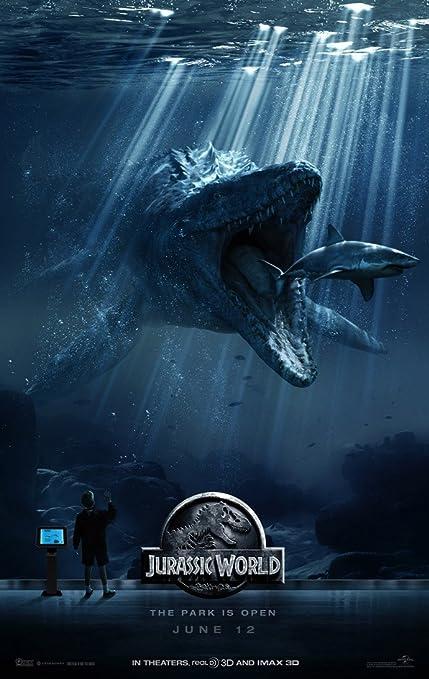 Amazon.com : JURASSIC WORLD MOVIE POSTER 2 Sided ORIGINAL ...