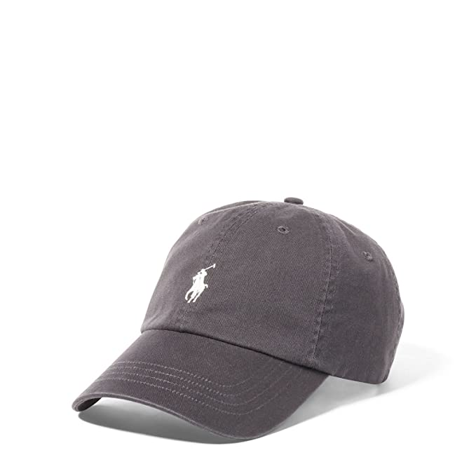 Ralph Lauren Gorra de béisbol - Dark Carbon Grey: Amazon.es: Ropa ...