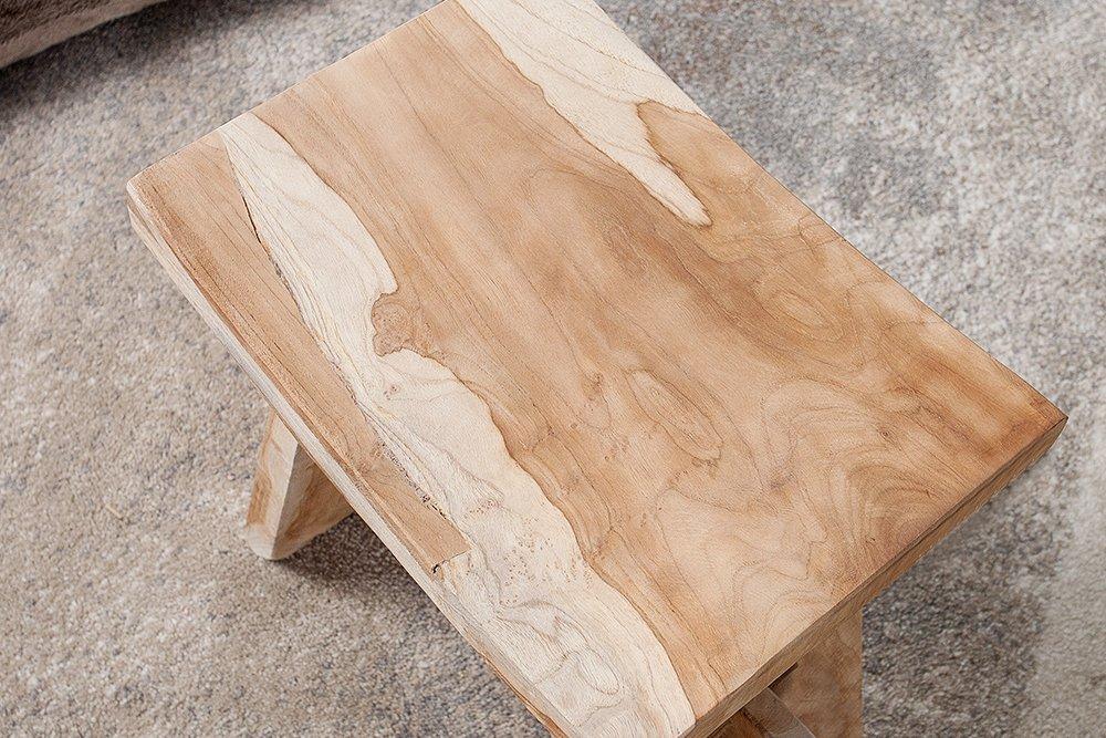 Sgabello in legno vecchio stile per cucine e pizzerie idfdesign