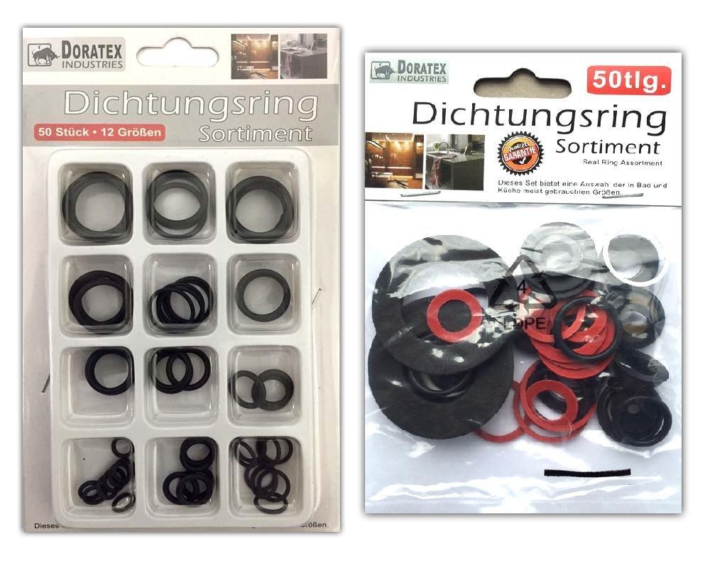 100tlg. Sanitä r Dichtungsringe Sortiment   Gummidichtung O-Ring Gummi Dichtringe HAC24