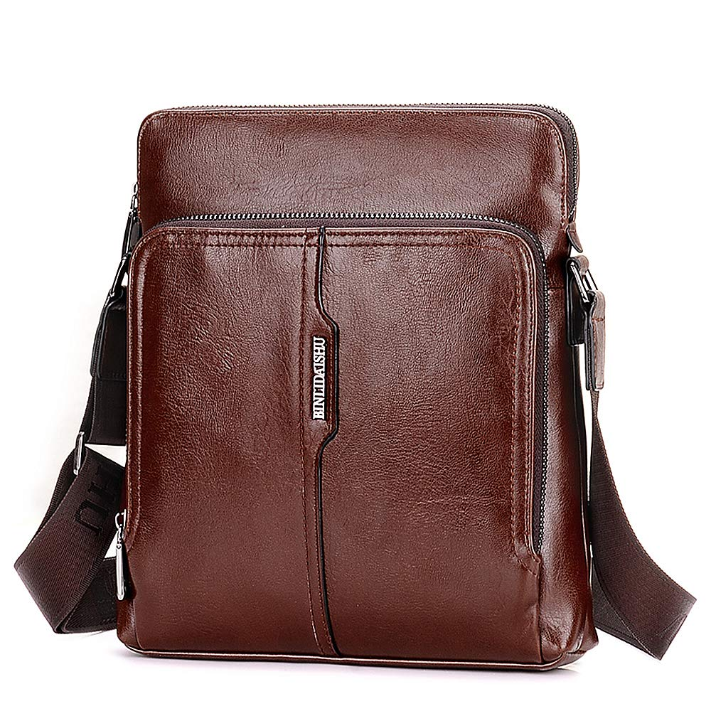 Mini Messenger Bags Travel Purse Sling Casual Daypack Small Crossbody Shoulder Bag for Men for Hiking Traveling with Handbag
