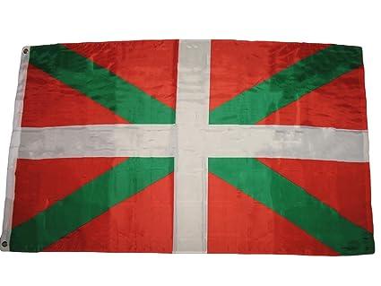 Amazon.com: ALBATROS - Bandera Vasco de España Vasco con ...