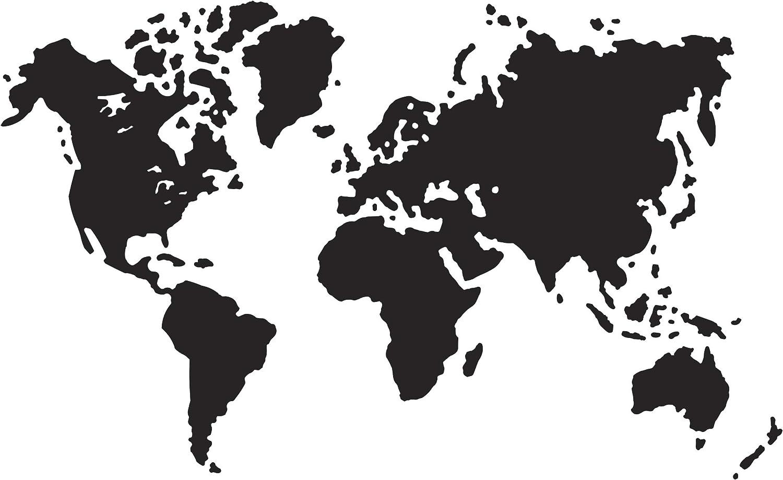 Darice Carpetas de Embossing Mapa del Mundo, 10.8x14.6x3 cm: Amazon.es: Hogar