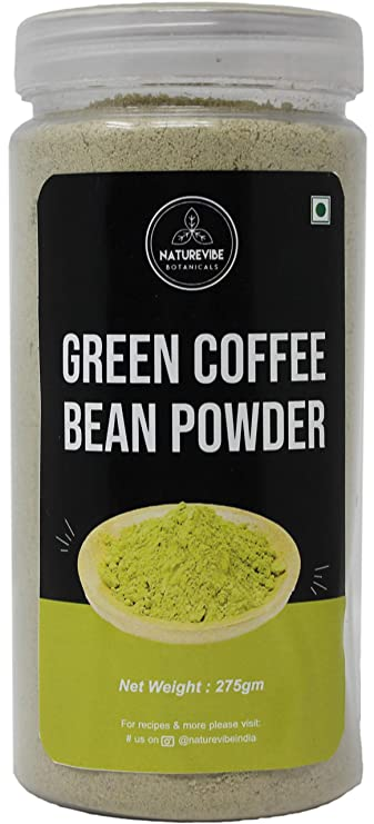 Buy Naturevibe Botanicals Organic Green Coffee Bean Powder 275gm