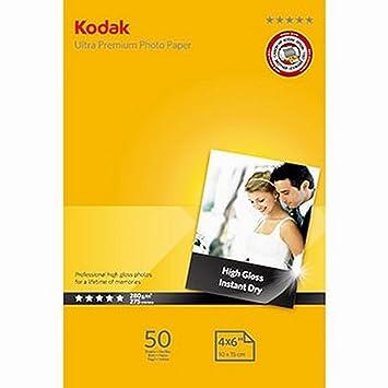 Kodak Ultra Premium - Papel fotográfico para impresoras de ...
